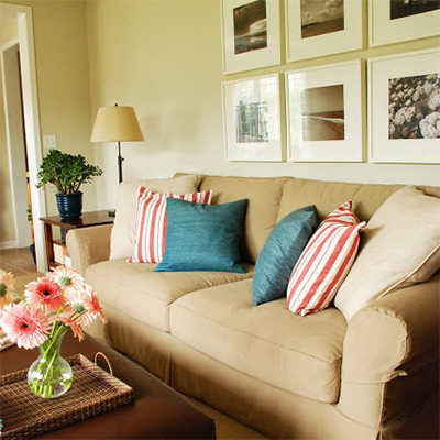 Vanessa Francis Design family room
