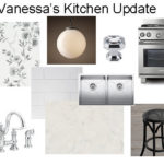 Prettying Up a Builder Kitchen: One Room Challenge Week 2