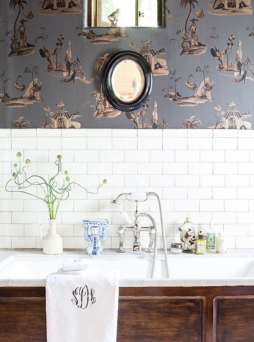wallpaper, kitchen renovattion, Vanessa Francis Design