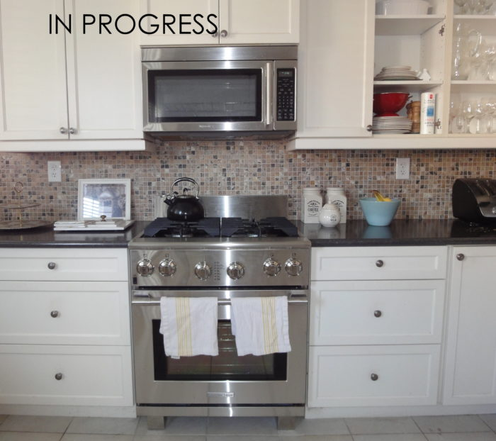 Electrolux range, kitchen renovation