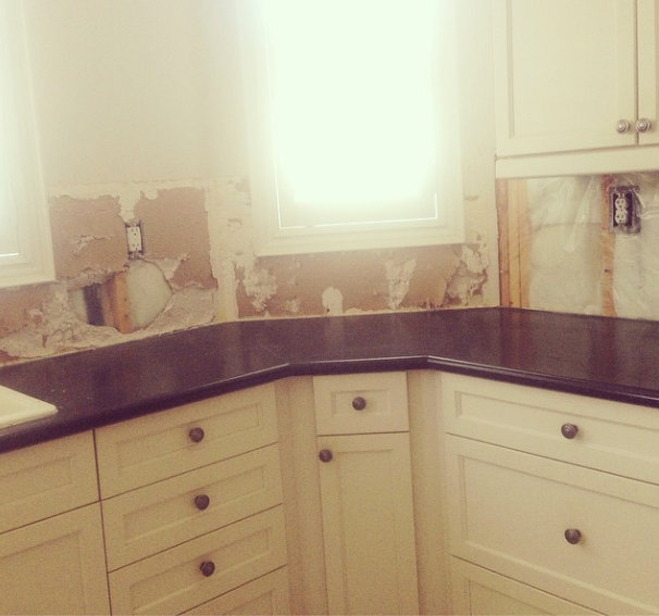 backsplash, kitchen reno