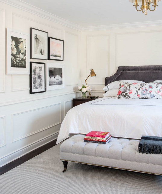 Using Metrie Interior Finishings To Create A Parisian Bedroom Vanessa Francis Design