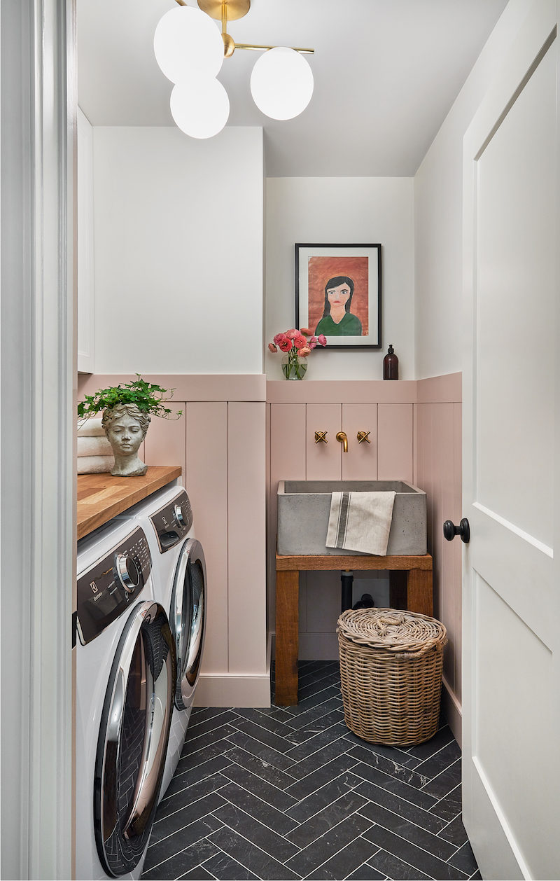 juin 2013 blog decoration maison new york style interior One Room Challenge Reveal u2013 Spring 2019: Modern Farmhouse Laundry Room  Renovation